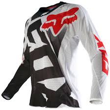 fox motocross jerseys fox racing 360 shiv airline jersey revzilla