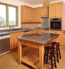 wooden kitchen countertops pros cons grey metal pendant light soft