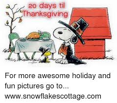 20 days til thanksgiving for more awesome and pictures