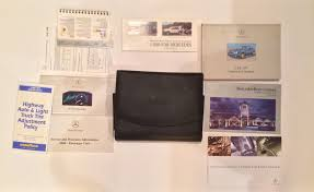 mercedes benz w208 clk320 owners manual and case u2022 59 99 picclick