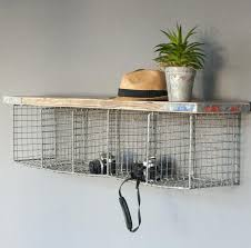 Metal Kitchen Shelves by Wall Shelf Unit With Hooks Mounted Pigeon Hole Ikea Picture