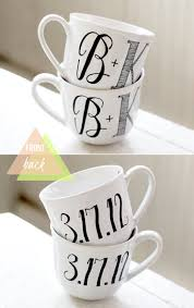 Personalized Mugs For Wedding Inital Mugs Your Seat Awaits Pinterest Wedding Mugs