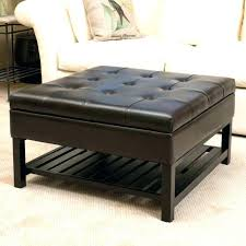 Tufted Coffee Table Brown Leather Tufted Ottoman Tufted Coffee Table Leather