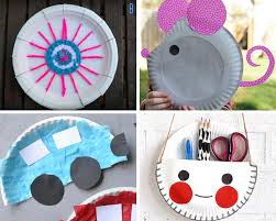 Easy Paper Craft Ideas For Kids - easy paper plate crafts for kids of all ages to enjoy just