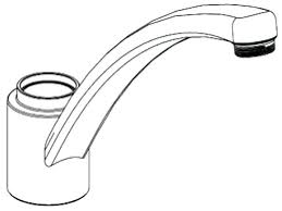 how to replace o ring in moen kitchen faucet moen kitchen faucet leaking from base of spout how to replace