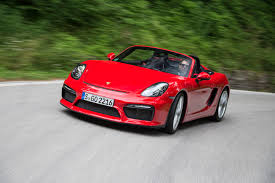Porsche Boxster Red - 2016 porsche boxster spyder second drive review