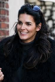 harmons hair stayles ncis angie harmon gorgeous brunette actress model mother and