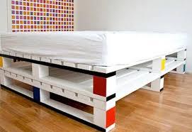 Pallet Bed Frame Plans Cool Diy Pallet Bed Designs Your Bedroom Pallets Designs