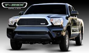 toyota tacoma accessories 2008 t rex toyota tacoma billet grille insert all black pt 20938b