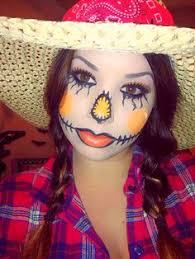 Womens Scarecrow Halloween Costume Cute Easy Fox Halloween Makeup Halloween U003dparty