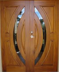 Modern Front Entry Doors In African Mahogany Chad Womack by Double Front Door Panel Design Wholechildproject Org