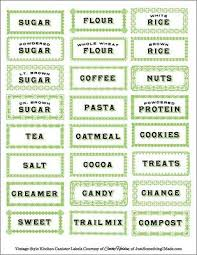 kitchen canister labels 78 best kitchen pantry labels images on pantry