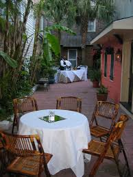 intimate receptions new orleans courtyard weddings