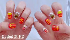 mcdonald u0027s nail art tutorial