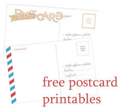 free downloadable postcard templates 28 images bnute