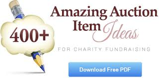 the ultimate list of 100 silent auction item ideas