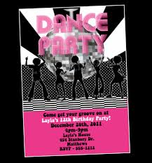 party invitations remarkable dance party invitations ideas dance