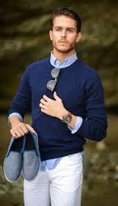 how to wear a navy crew neck sweater 220 looks men u0027s fashion
