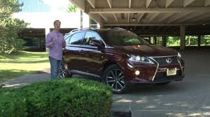 customer reviews on lexus rx 350 2013 lexus rx 350 f sport drive time review with steve hammes