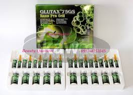 Glutax Nano Pro Cell glutax 75gs nano pro cell whitening anti aging injectable