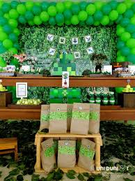 minecraft backdrop minecraft birthday party ideas via wish childrens