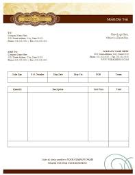 sales tax invoice blank sales invoice