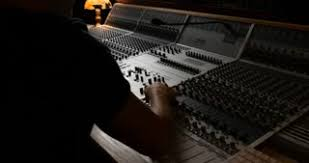 Sound Desk Professional Sound Engineer Digital Mixing Board Recording