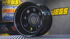 Jegs Auto Parts Jegs Baja 8 Steel Wheels In Black With Kenny Wallace Youtube