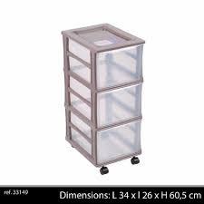casier bureau rangement colonne plastique 3 tiroirs box casier de rangement caisse sur roue