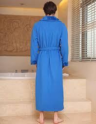 robe de chambre pour spa insun unisexe peignoir de bain doux et léger robe de chambre pyjama
