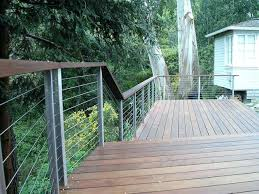 stainless steel cable railings for decks american hwy top 28 19