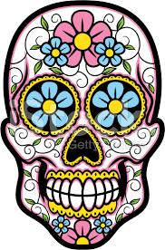 vector illustration of sugar skull sugar skulls vector and