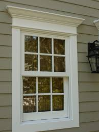 inspirations stunning exterior window trim ideas for luxury home