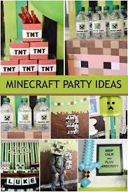minecraft birthday party ideas a minecraft boy birthday party spaceships and laser beams