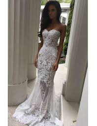 mermaid wedding dress modern sweetheart appliques lace mermaid wedding dresses 2534462