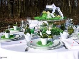 d coration mariage chetre centre de table plantes aromatiques idées déco mariage