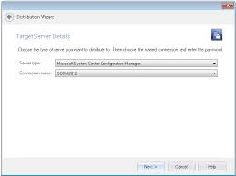 distributing applications using the distribution wizard