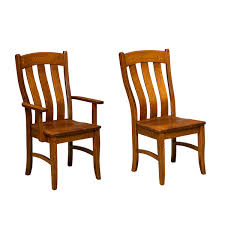 Wooden Restaurant Chairs Amish Dining Chairs Amish Furniture Shipshewana Furniture Co