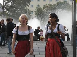 traditional oktoberfest dress photo