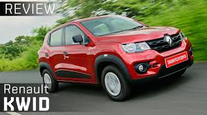 kwid renault 2016 renault kwid review video zigwheels youtube