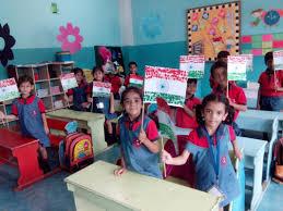 Flag Making Activity Dps Allahabad