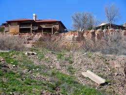 hillside homes city tears down homes in slide area work on hillside set to begin