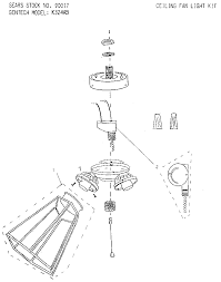 hton bay universal light kit ceiling fan excelent ceiling fan parts picture inspirations