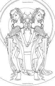 83 best part human part otherworld coloring pages images on