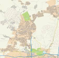 Pretoria South Africa Map by Map Of Soshanguve