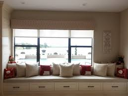 ford window treatments custom upholstered cornice with solar