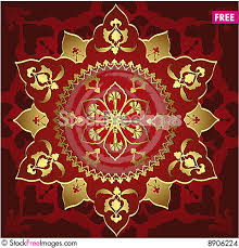 Ottoman Design Antique Ottoman Gold Design Free Stock Images Photos 8906224