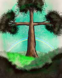 cross tree free stock photo domain pictures