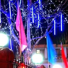 shooting star icicle lights led snowfall light white led icicle lights led waterproof snowfall