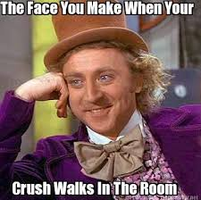 How To Make A Meme Face - meme maker the face you make when your crush walks in the room